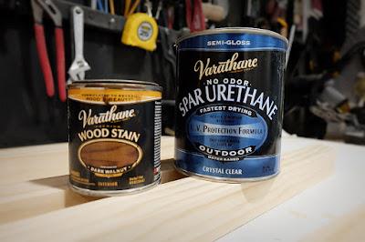 varathane stain oil dark walnut spar polyurethane water based outdoor