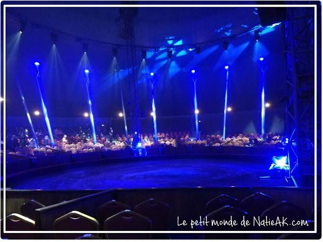 "piste du cirque équestre ""Origines"" d'Alexis Gruss"