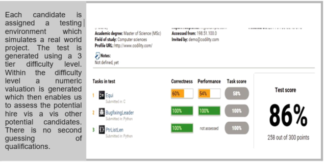 Outsourced Software Development Test Environment