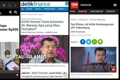 Di Detik-detik Akhir.. Pak JK Berusaha Mencegah Indonesia Hancur