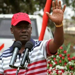 Kabogo in his county office. PHOTO | Courtesy