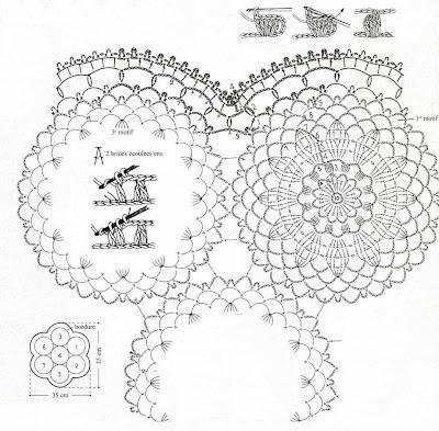 Solo esquemas y diseños de crochet: DELICADO