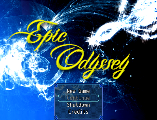 Game RPG Petualangan PC Epic Odyssey (RPG Maker)
