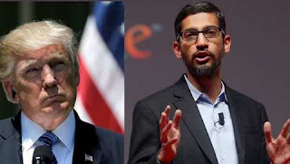 Sundar Pichai assures Donald Trump that Google fully committed to the US Army