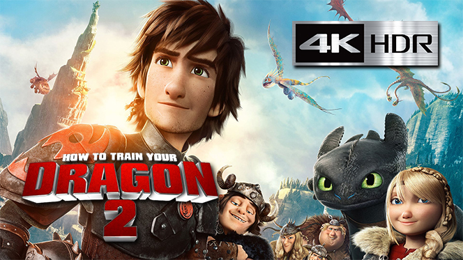 Cómo Entrenar a tu Dragón 2 (2014) 4K UHD [HDR] Latino-Castellano-Ingles