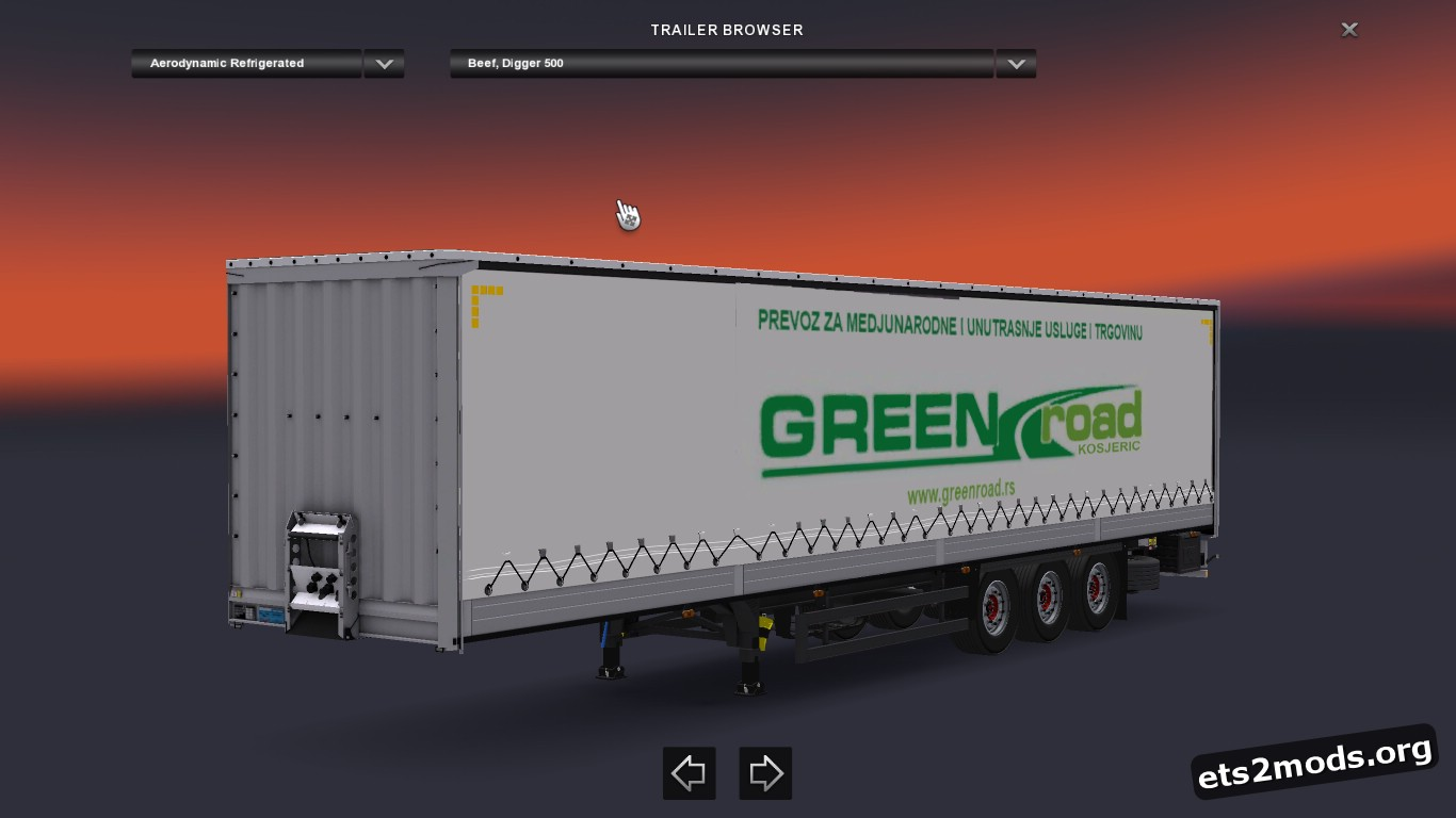 Green road Kosjeric Combo Pack