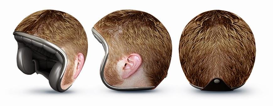 Helm Unik kepala cowok