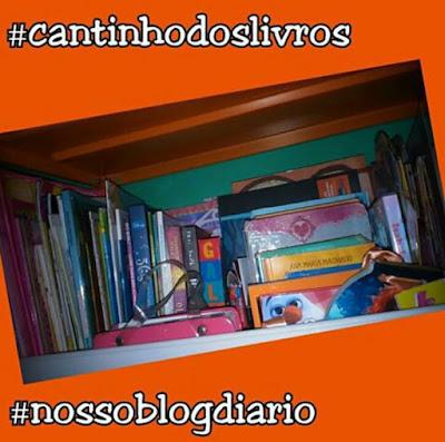 Prateleira de livros-Nosso Blog diário-http://dulcineiadesa.blogsppot.com