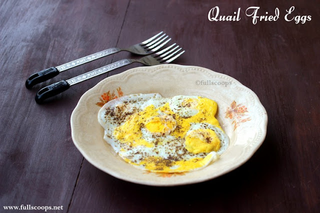 Quail Fried Eggs