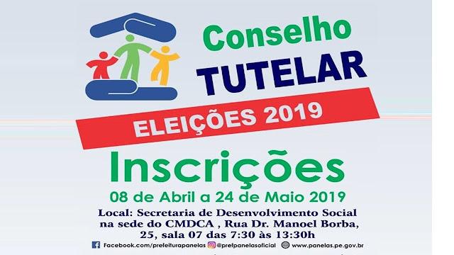 CONSELHO TUTELAR - ELEIÇÕES 2019