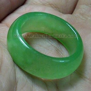 Cincin Batu Giok Jadeite Jade - ZP 834