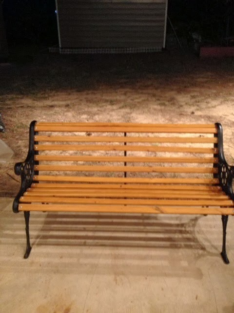 Upcycling My World Restoring A Cast Iron Bench
