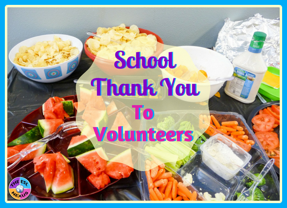 How one school thanks its volunteers for the support they give students & teachers | The ESL Nexus