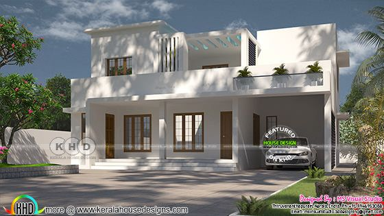 2131 square feet 4 bedroom contemporary house