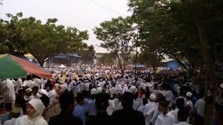 santri pp sunan drajat ramaikan acara hari santri nasional