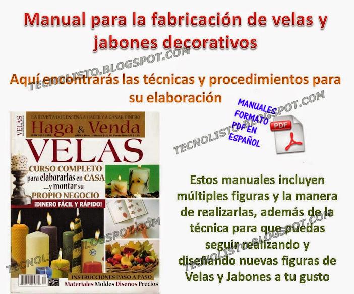 """""""curso fabricacion de velas y jabones"""""""
