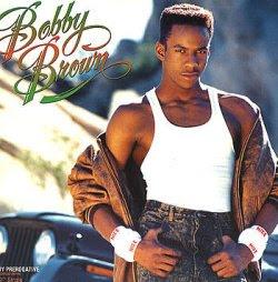 Foto de Bobby Brown en sus inicios