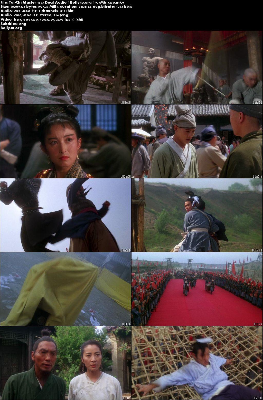 Tai-Chi Master 1993 BluRay Hindi 900Mb Dual Audio 720p Download