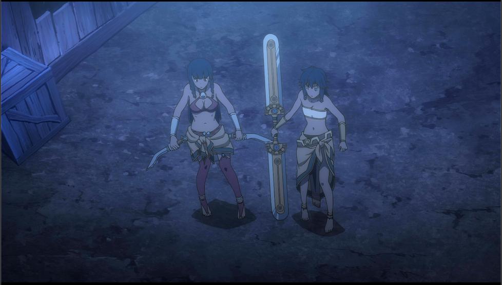 Anime Feet: Sword Oratoria: Group Shots