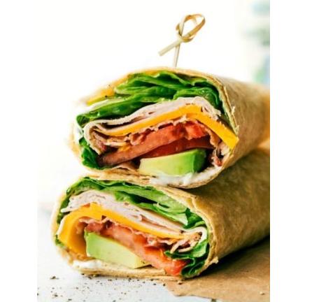 Turkey Avocado Ranch Club Wraps #diet #delicious #avocado #lowcarb #yummy