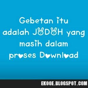 Gambar DP BBM Kata Kata untuk Gebetan