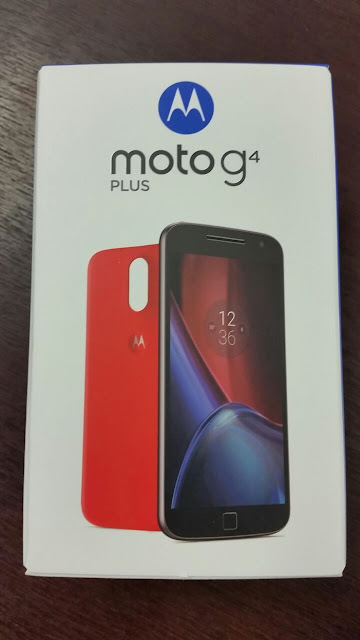 Moto G4 Plus Retail Box is here !