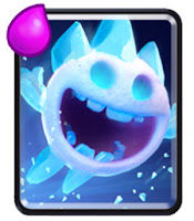 Ice Spirit kartu baru di Frozen Peak arena Clash Royale