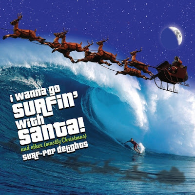 THE HOLLYBERRIES - 'I WANNA GO SURFIN' WITH SANTA'