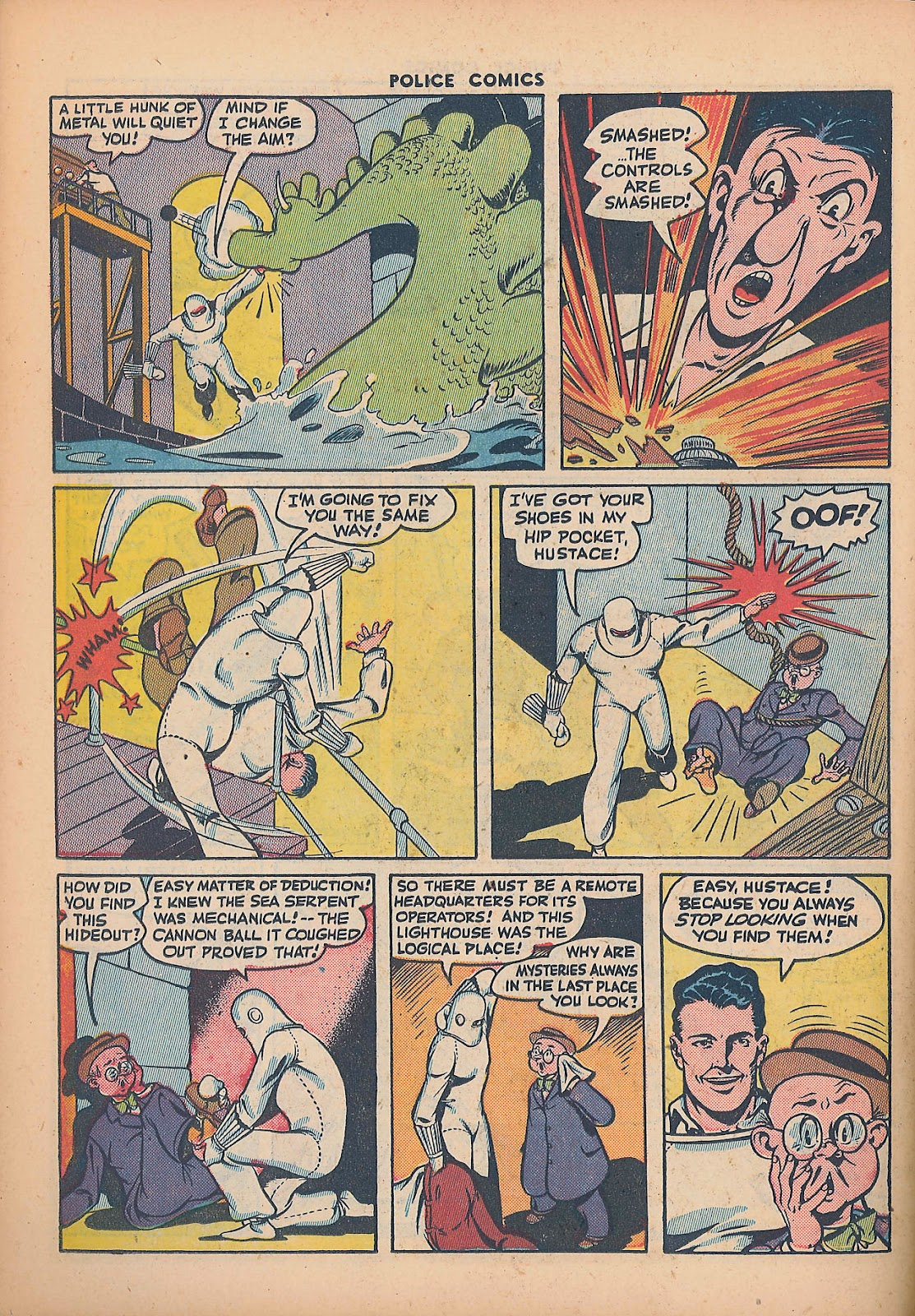 Police Comics issue 44 - Page 42
