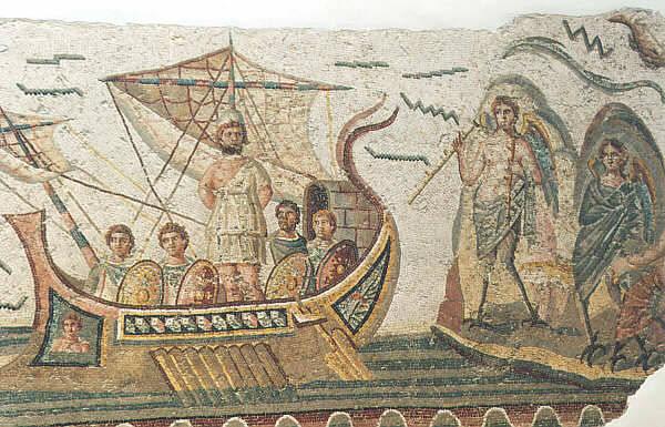 Mosaico, Ulisse