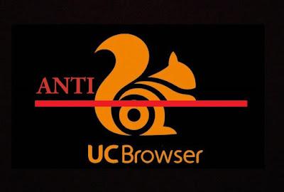 Script Anti UC Browser dan Adblock