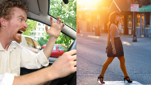 Why Drivers & Pedestrians Share the Same Frustrations for Each Other