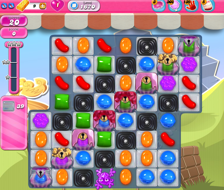 Candy Crush Saga 1670