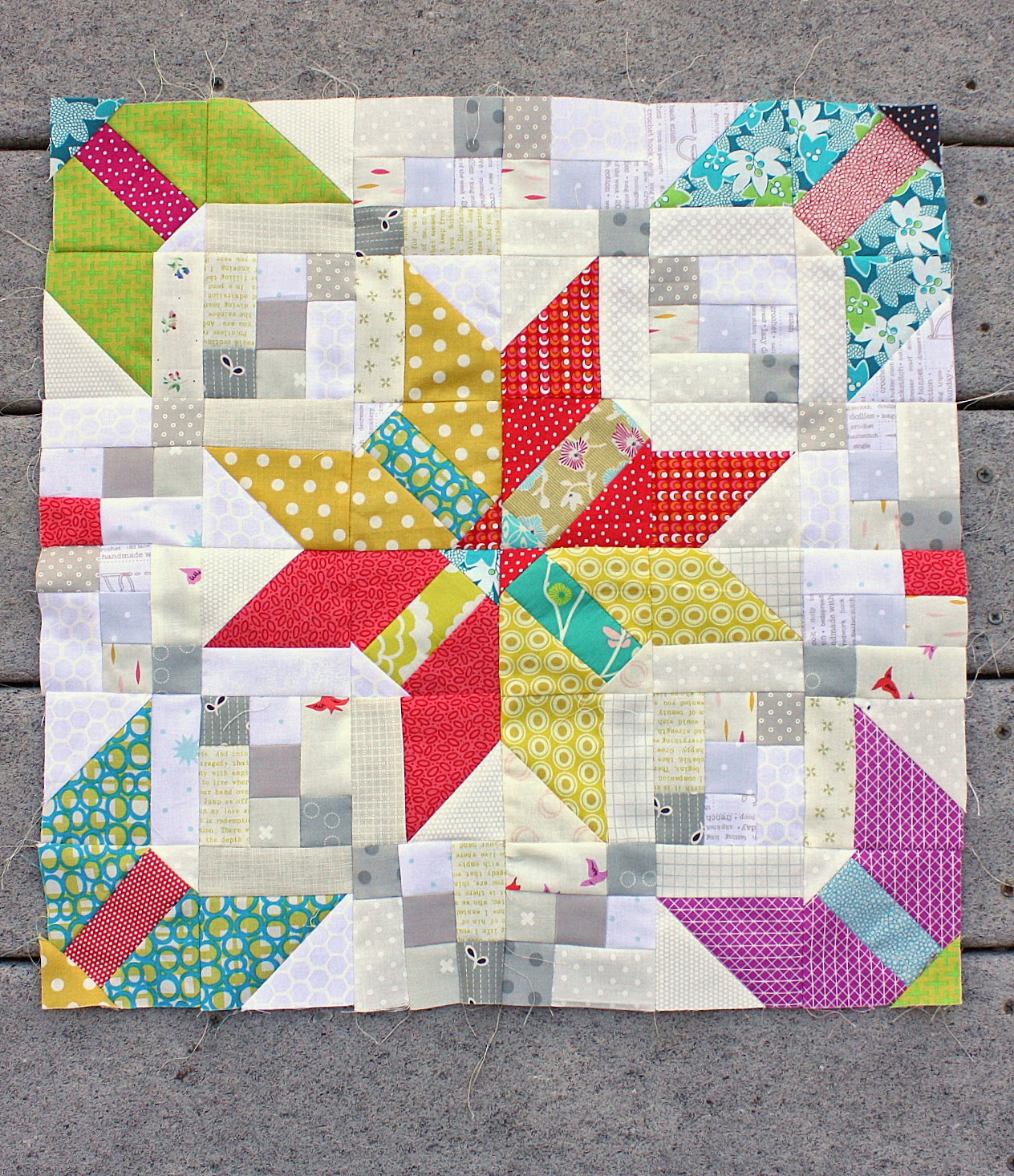 New Quilt Block And Scrappy Trip Around The World Diary Of A