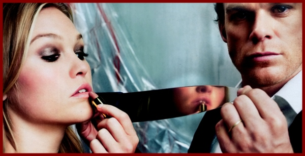 Michael C. Hall and Julia Stiles in Dexter, 5 Season