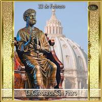 Resultado de imagen para la Cátedra del apóstol san Pedro