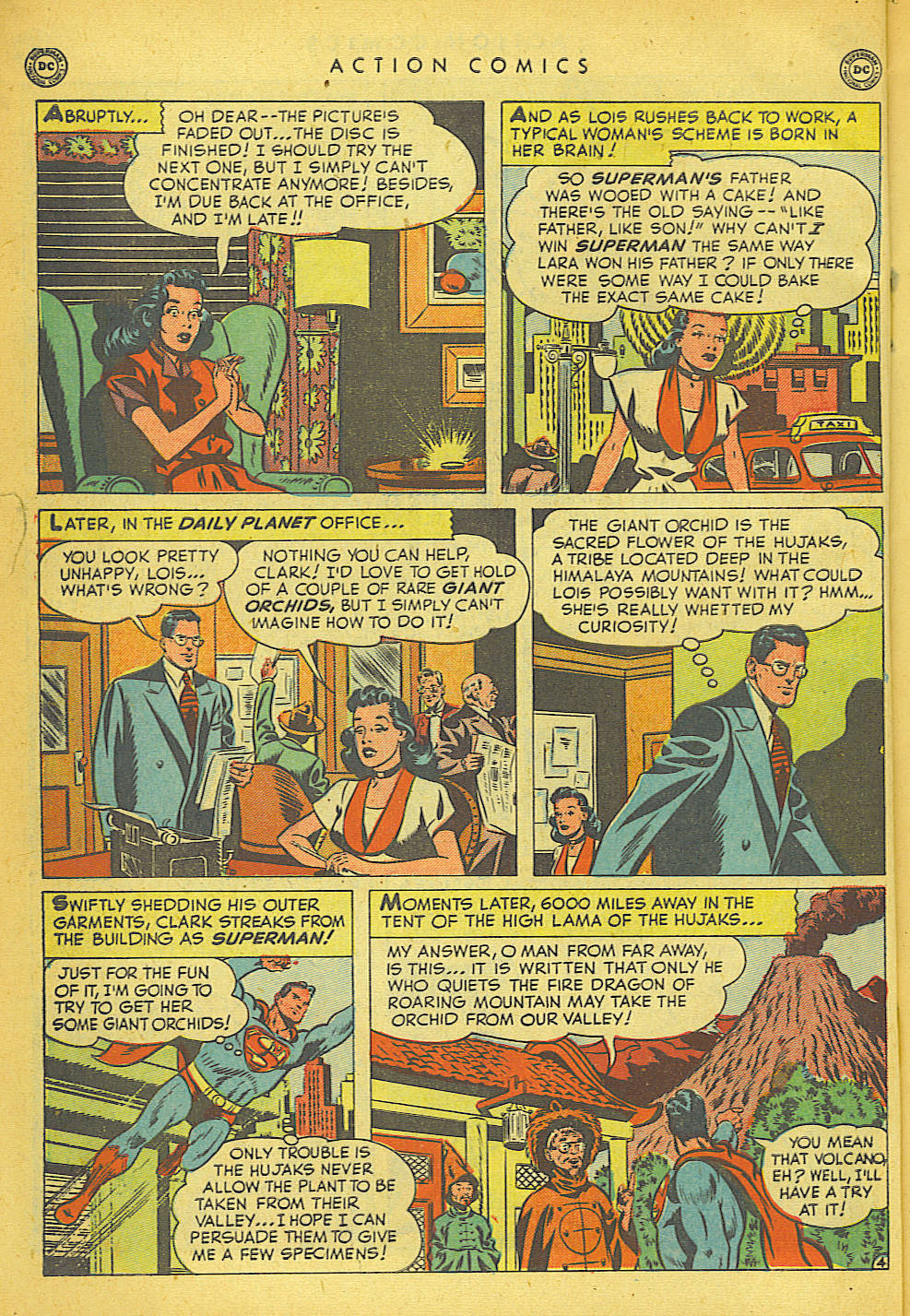 Read online Action Comics (1938) comic -  Issue #149 - 5