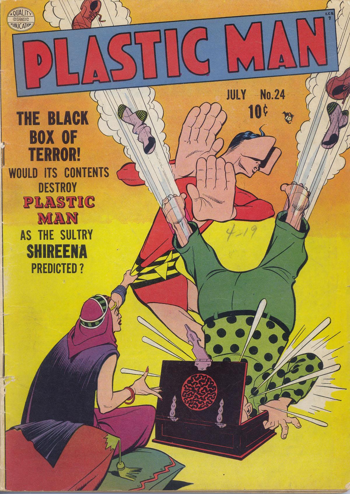 Plastic Man (1943) 24 Page 1