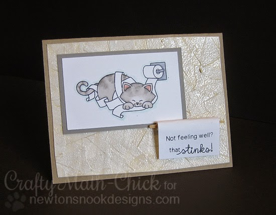 Naughty Newton TP card by Crafty Math Chick | Naughty Newton by Newton's Nook Designs