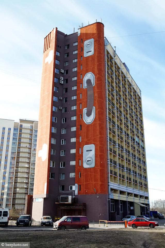 необычные здания санкт петербурга