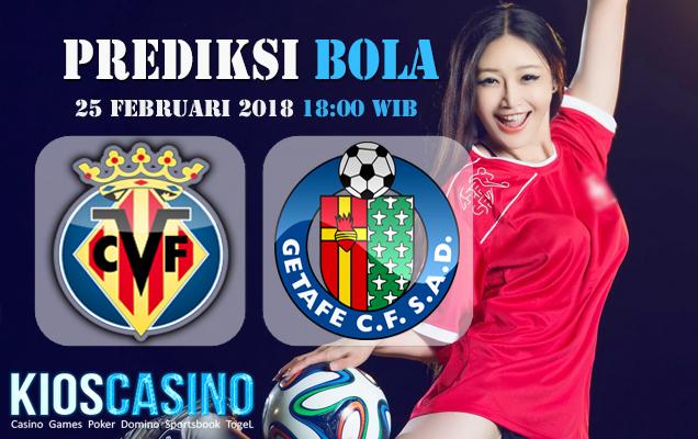 Prediksi Skor Villarreal vs Getafe 25 Februari 2018