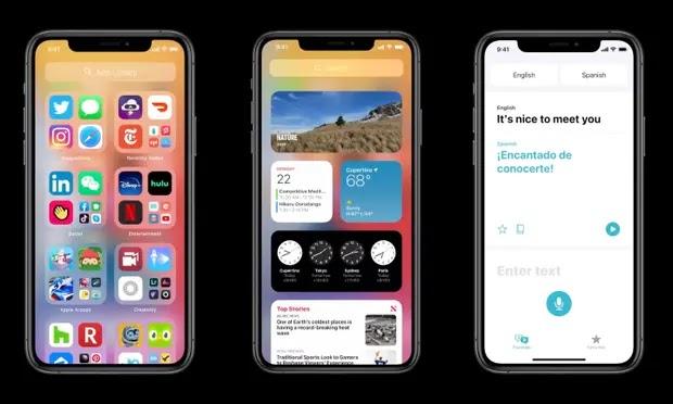 iOS 14 new App Library