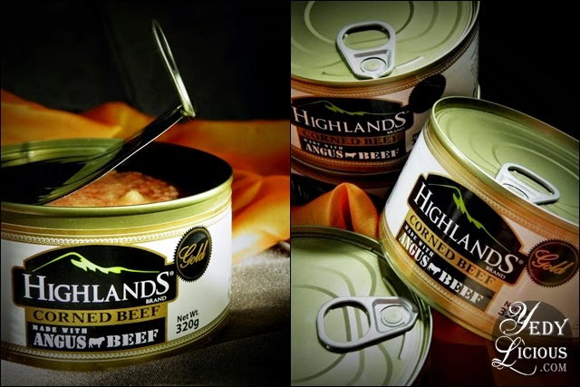Highlands Gold Corned Beef, made with choicest cut of Angus Beef. Highlands Gold Corned Beef Blog. Nuffnang Philippines. YedyLicious