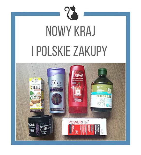 Przeprowadzka, nowy kraj i polskie zakupy