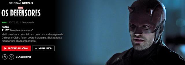 Assistir Os Defensores na Netflix em Agosto de 2017!