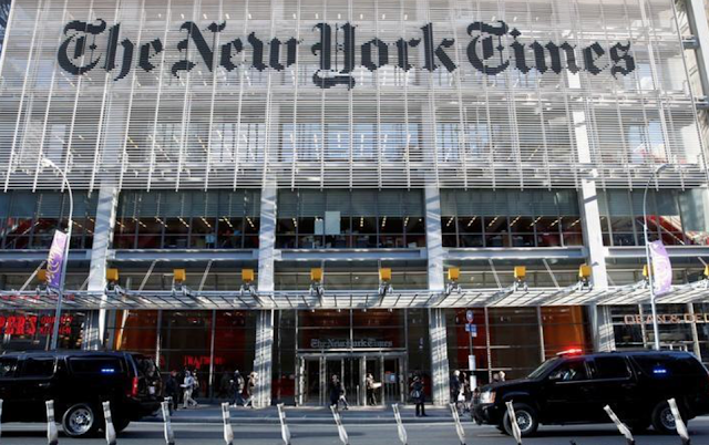 New York Times beats as digital subscriptions surge, shares rise