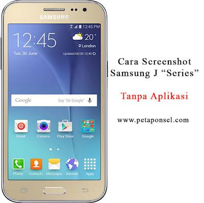 Cara Screenshot Samsung J1 J2 J3 Tanpa Aplikasi
