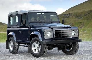1983 Land Rover Defender 90 Front