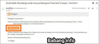Cara Memindahkan Blogspot ke Akun Gmail Lain