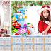 2 Calendarios 2017 psd para navidad y año nuevo